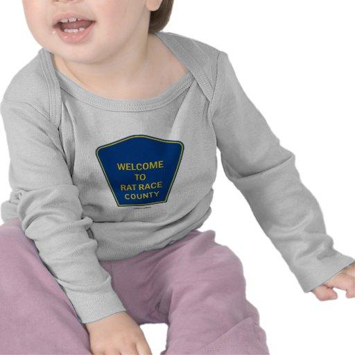 Recepción al condado del vorágine (muestras) camiseta
