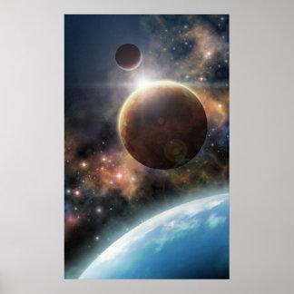 Recepción al espacio póster