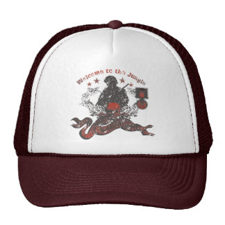 Recepción al gorra de la selva