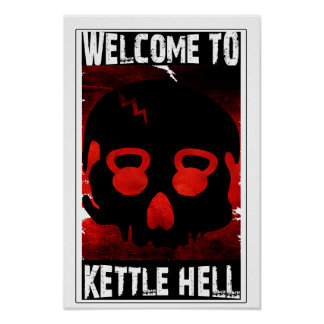 Recepción al infierno de la caldera - poster del c