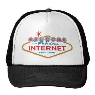 Recepción al Internet fabuloso - 24hrs abierto Gorra