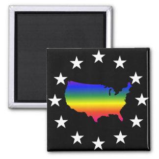 Recepción al maricón América de LGBT Imán Cuadrado