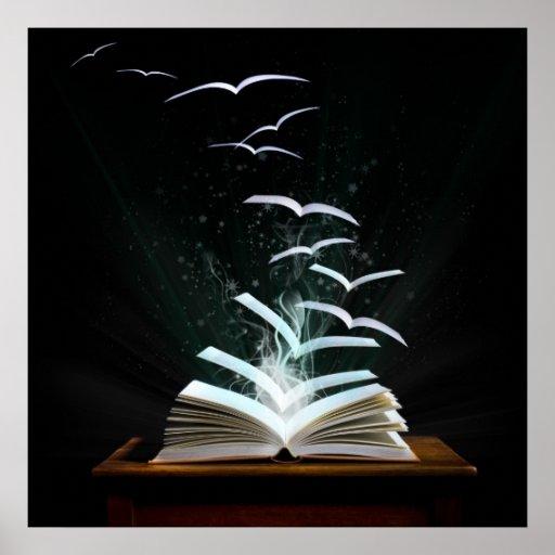 ¡Recepción al mundo mágico de la lectura! Poster
