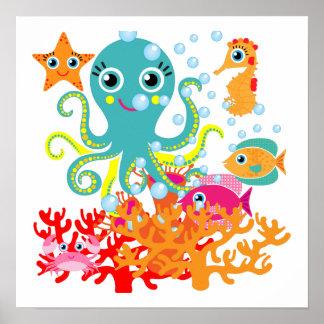 Recepción al océano posters
