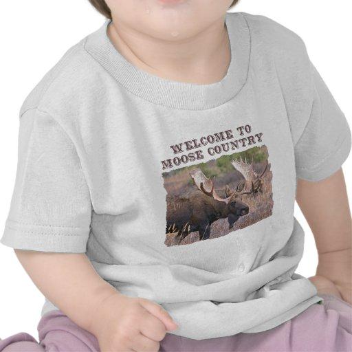 Recepción al país de los alces camisetas