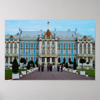 Recepción al palacio de Catherine, Rusia Póster