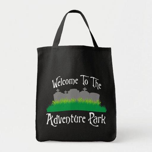 Recepción al parque de la aventura bolsa