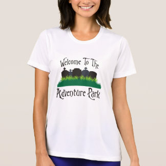 Recepción al parque de la aventura camisetas
