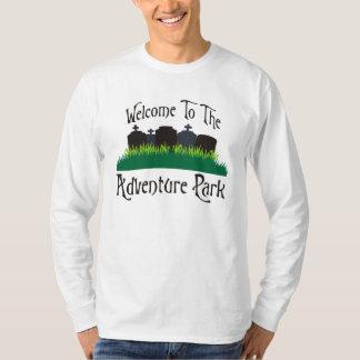 Recepción al parque de la aventura playera