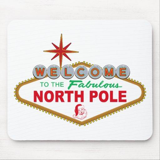 Recepción al Polo Norte fabuloso (muestra de Vegas Alfombrilla De Raton