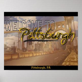 Recepción al poster de Pittsburgh