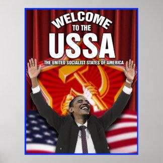 Recepción al USSA Poster