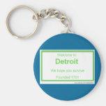 Recepción de Detroit Llaveros