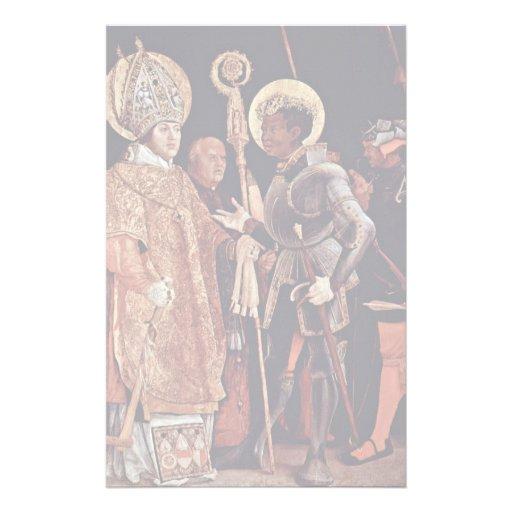 Recepción de Erasmus del St. por la descripción de Papelería