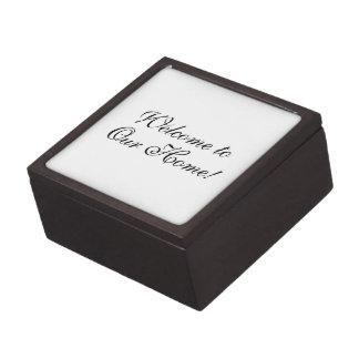 ¡Recepción de la caja de regalo a nuestro hogar E Caja De Recuerdo De Calidad