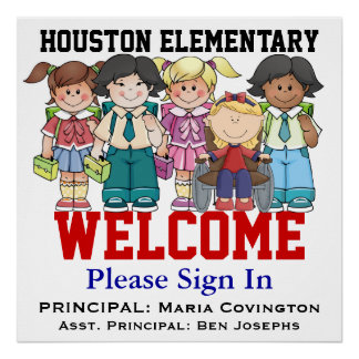 Recepción de la escuela - SRF Posters