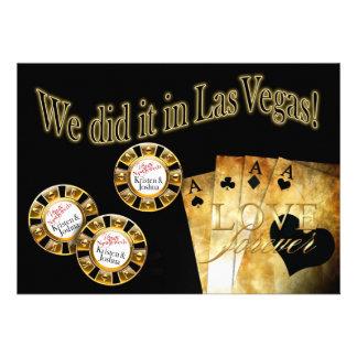 Recepción de lujo de Vegas (éntreme en contacto co