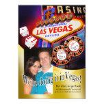 """Recepción de Tania y de Eric Las Vegas Invitación 5"""" X 7"""""""