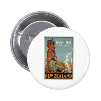 Recepción del AMI de Haere a Nueva Zelanda Pin