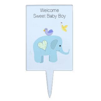 Recepción del bebé del elefante decoraciones para tartas