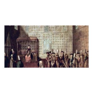 Recepción del embajador francés 1699 por Mour Plantilla Para Tarjeta De Foto