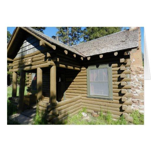 Recepción del hogar de la cabina del Peavy nueva Tarjeta De Felicitación