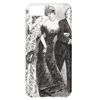 Recepción diplomática 1904 funda para iPhone 5C