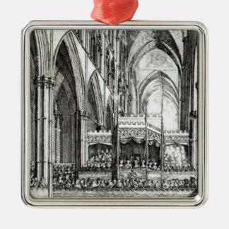 Recepción en la conmemoración de Handel Adorno Navideño Cuadrado De Metal
