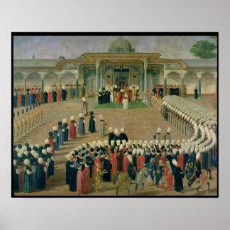 Recepción en la corte del sultán Selim III Impresiones