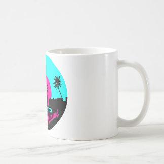 Recepción fresca al diseño de Miami Taza Clásica