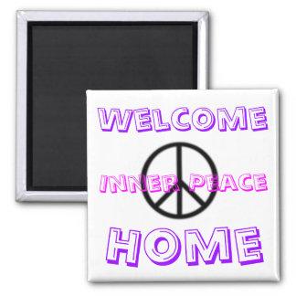 , Recepción, hogar, paz interna Imán Cuadrado