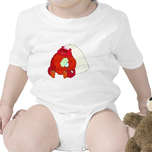 Recepción nupcial 46 traje de bebé