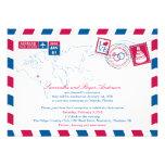 Recepción nupcial del poste del correo aéreo de Or