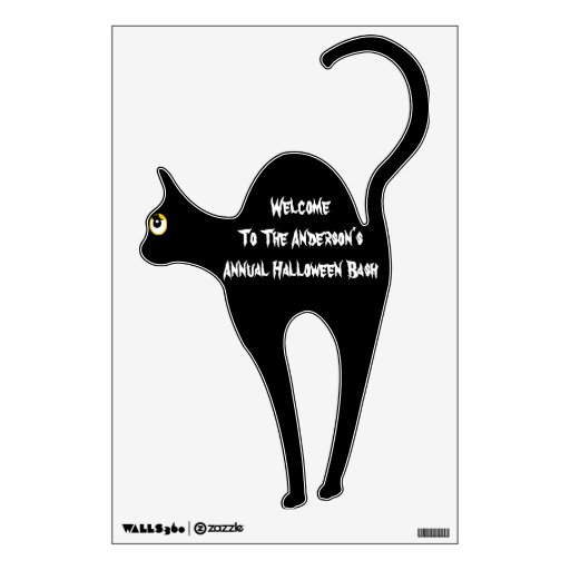 Recepción personalizada del gato a la etiqueta de