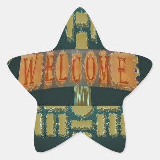 Recepción:  Piedras de EmeralGold del vintage Pegatina En Forma De Estrella