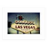 """""""Recepción postal del vintage de Las Vegas"""""""
