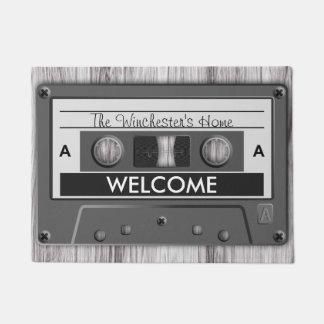 Recepción retra de la cinta de casete de los felpudo