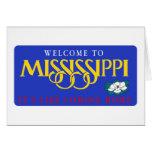 Recepción señal de tráfico de Mississippi - los E. Tarjetas