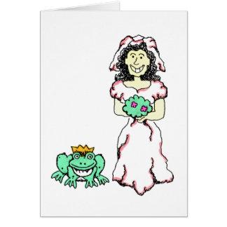 Recepciones nupciales 9 tarjeta de felicitación