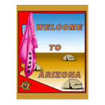 Recepciones Obama de Arizona Tarjeta Postal