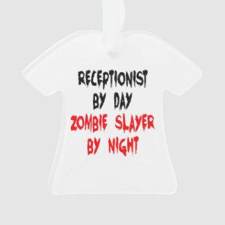 Recepcionista del asesino del zombi