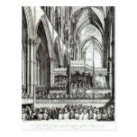 Reception  at the Commemoration of Handel Postcard