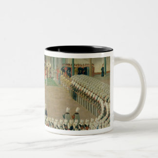 Reception at the Court of Sultan Selim III Coffee Mug
