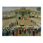 Reception at the Court of Sultan Selim III Postcard