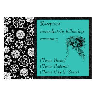Reception Business Card Template