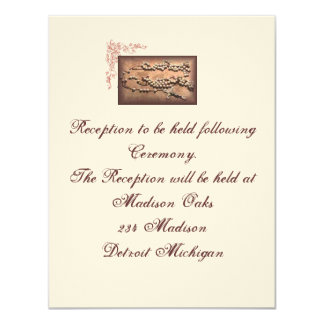 "Reception Card matches ""Antique Wedding Lasso"""