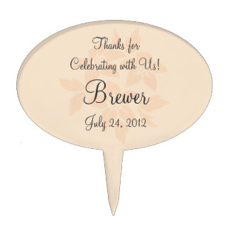 Reception Cupcake Toppers or Wedding Favor Labels Cake Topper