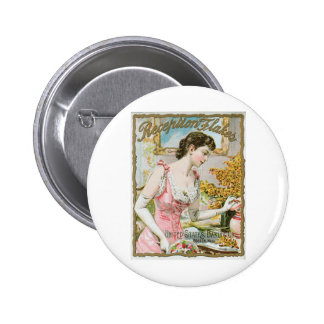 Reception Flakes Vintage Baking Ad Art Buttons