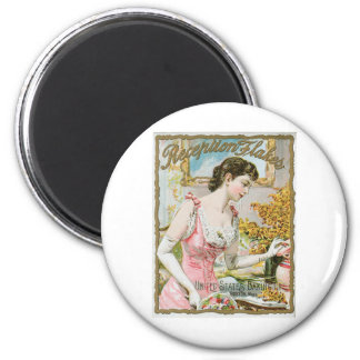 Reception Flakes Vintage Baking Ad Art Magnet