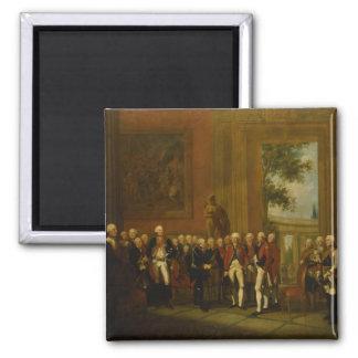 Reception for the Duke of York in Sanssouci Magnet